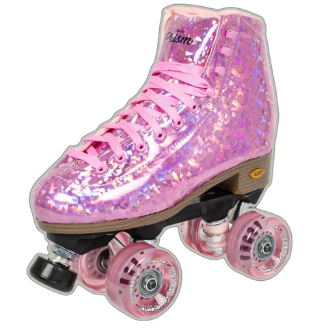 Sure-Grip Pink Prism *Plus* Roller Skates - Volition Skate Co.