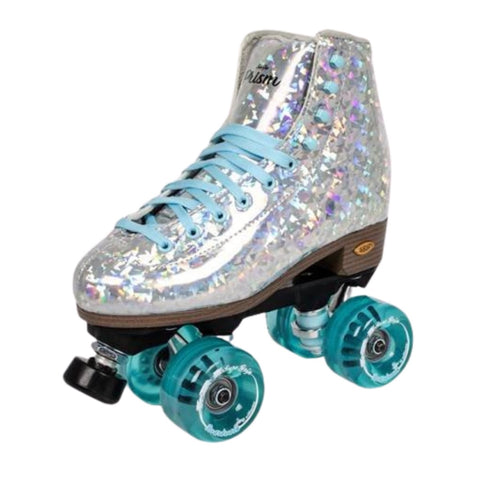 Sure-Grip Prism Roller Skate Silver/Blue - Volition Skate Co.
