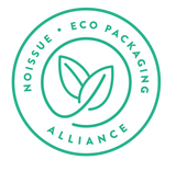 noissue - eco packaging alliance certified stamp