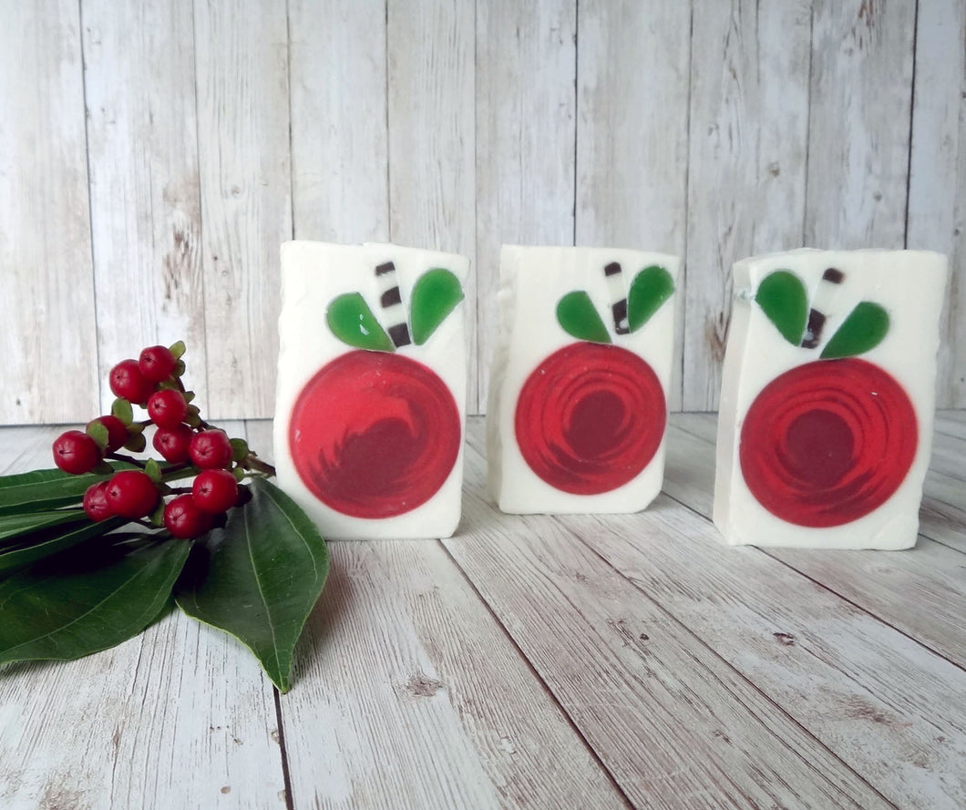 Fall Apple Orchard Handmade Soaps