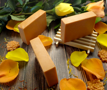 Load image into Gallery viewer, Apricot Goats Milk Soap