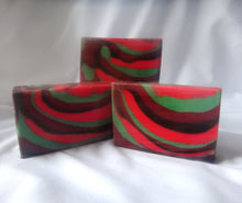 Load image into Gallery viewer, Cranberry Balsam Handcrafted Soap