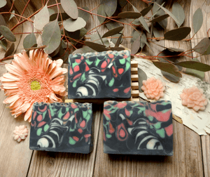 Fairbanks Aurora Kitty Handmade Soap