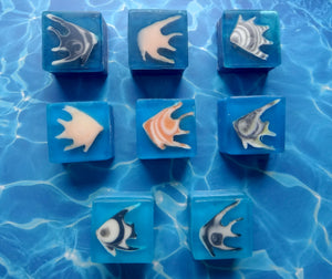 Angel Fish Handmade Soap Cubes