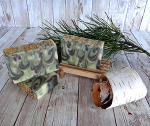 Frasier Fir Swirl Handmade Soap
