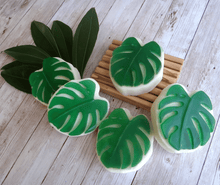 Load image into Gallery viewer, Handmade Monstera Soaps