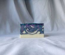 Load image into Gallery viewer, Lavender Swirl Handmade Soap