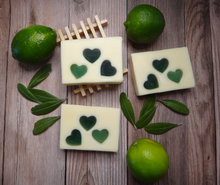 Load image into Gallery viewer, Lovin' Lime Handcrafted Soap