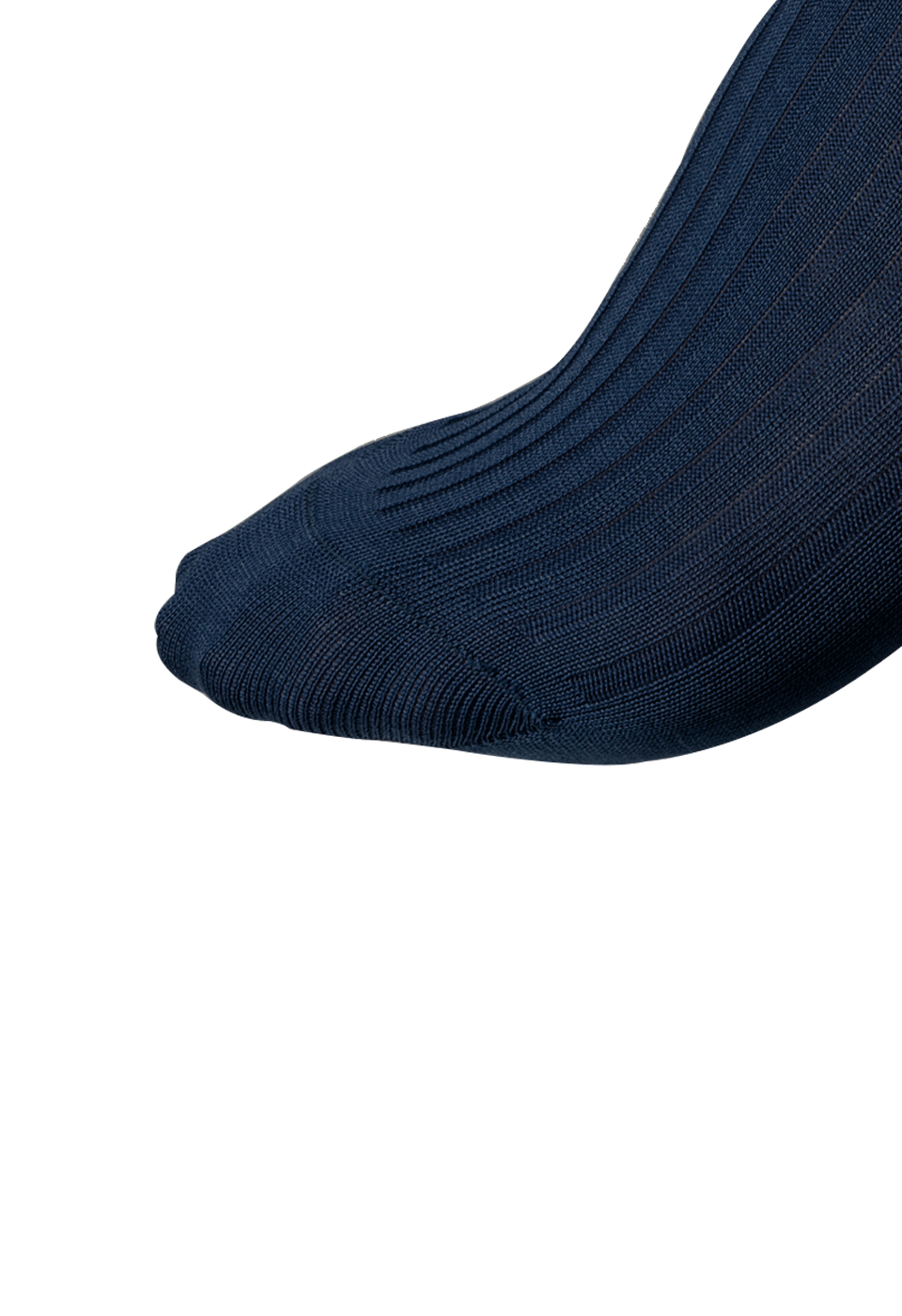 NOSOCKS long wool - donkerblauw - tenen