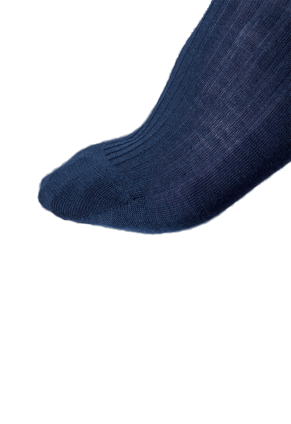 NOSOCKS long wool - marineblauw - tenen