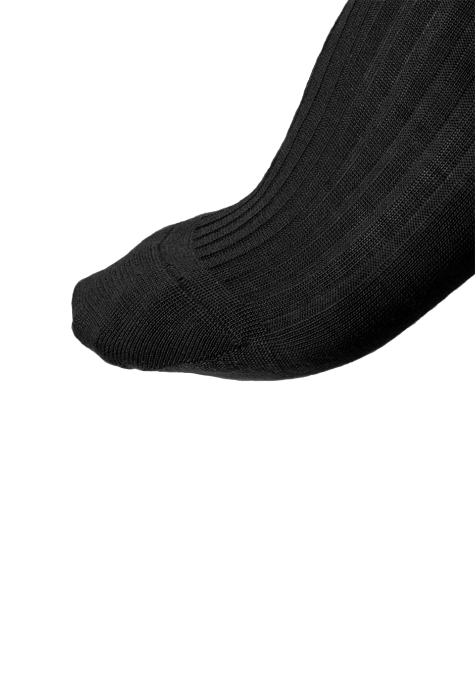 NOSOCKS long wool - zwart - tenen