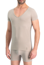 Afbeelding in Gallery-weergave laden, NOSHIRT nature - deep V - invisible khaki