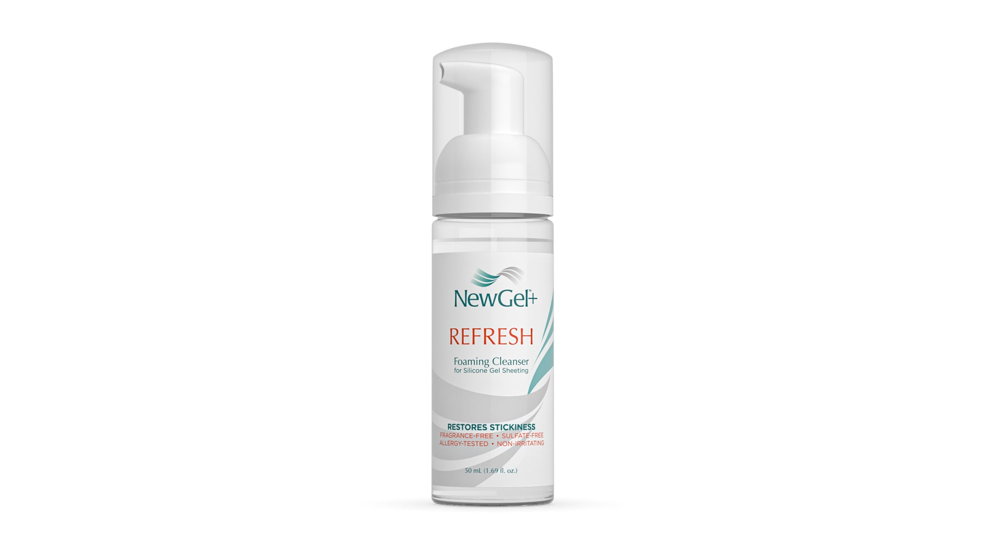 Refresh Foaming Cleanser for Adhesive Scar Products