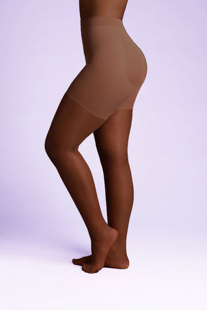 Open image in slideshow, CONFIDENCE 15 Denier Control Tights - Sheer Chemistry