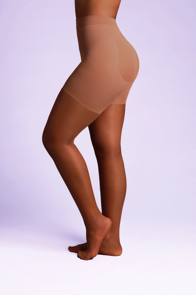 CONFIDENCE 15 Denier Control Tights - Sheer Chemistry