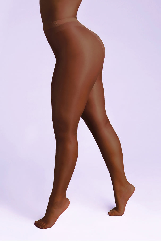 RADIANCE 10 Denier Gloss Tights - Sheer Chemistry