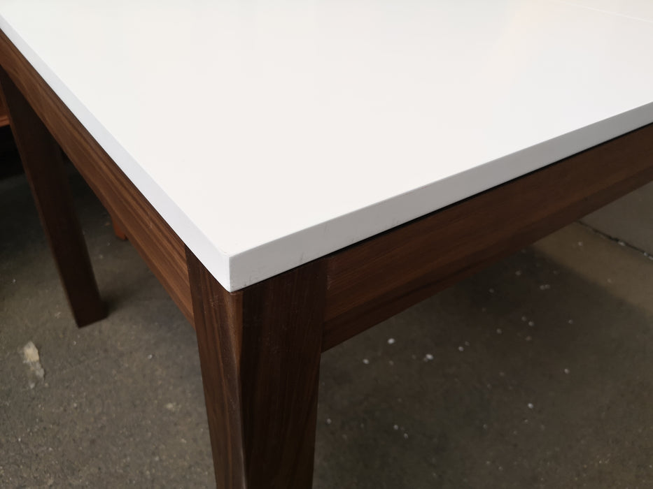 White Top Modern Dining Table