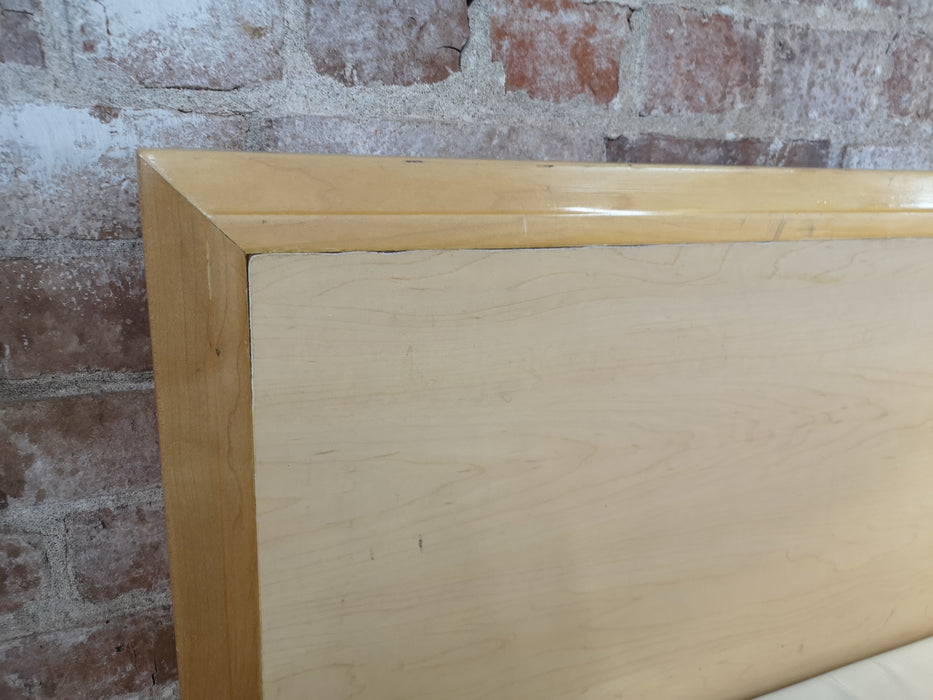 Twin Light Wood Headboard