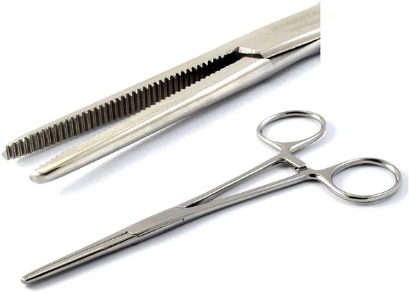 Pean Full Serrated Hemostat Forceps 8