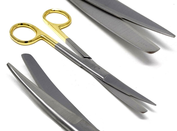 TC Dissecting Scissors, Sharp/Blunt, 6.5
