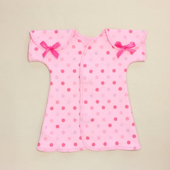 Fit & Flare NICU Dress Polka Dot