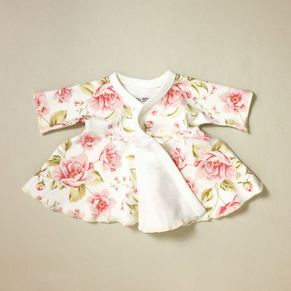 Vintage Rose NICU Ruffle Dress & Headband