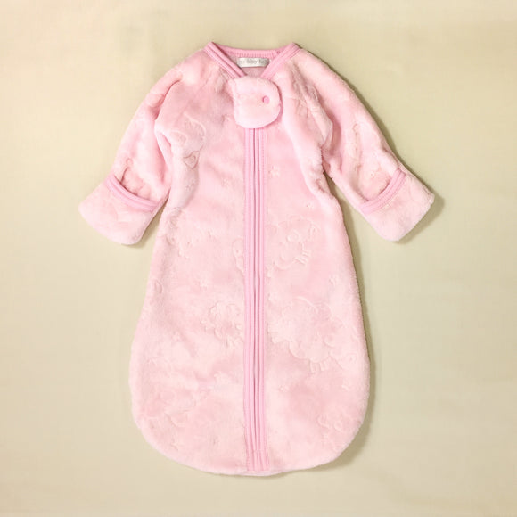 Jungle Plush Sleepsack - Pink