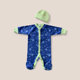 Blue Firecracker Babygrow Set