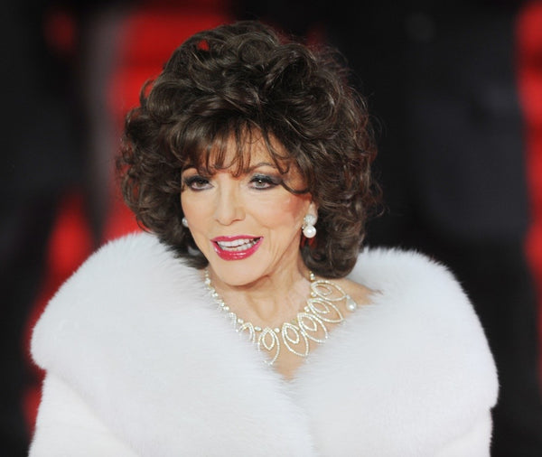 Angelina Hart influenced by Joan Collins