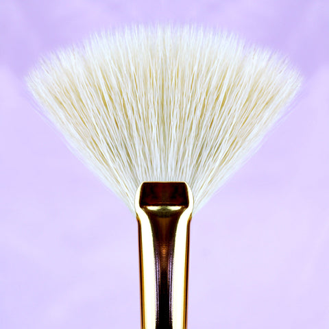 Makeup Brushes by Angelina Hart - Petite Fan Brush