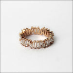 Angelina Hart Stackable Baguette Rings