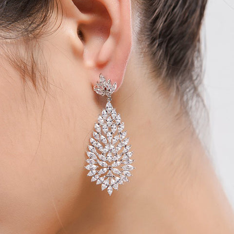 Angelina Hart Chandelier Earrings