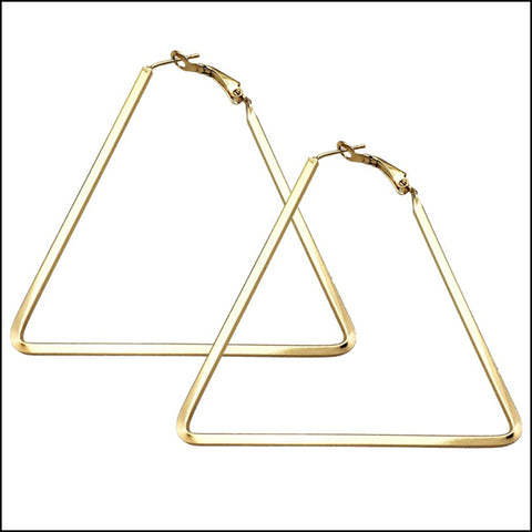 Angelina Hart Chemistry Earrings Gold