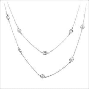 Angelina Hart Diamonds by the Yard Necklace Layered