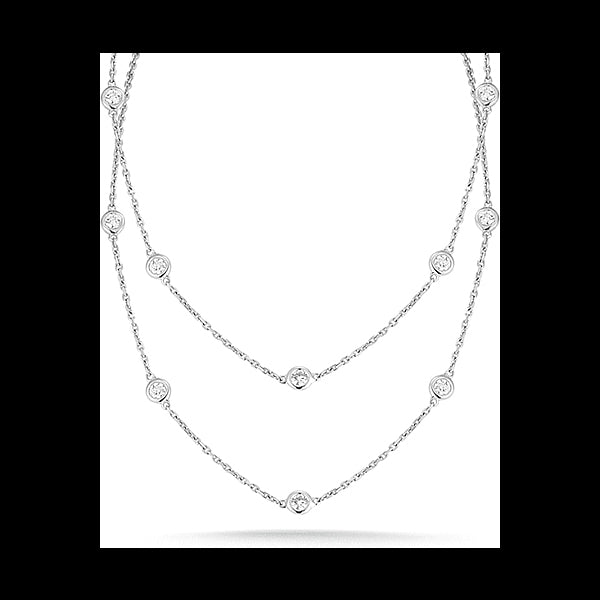 Angelina Hart Diamonds by the Yard Necklace