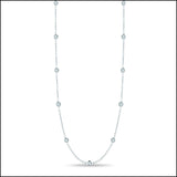 Angelina Hart Diamonds by the Yard Necklace Long