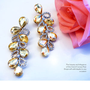 The Grand Canary Earrings by Angelina Hart