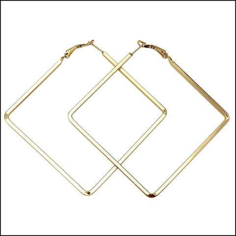 Angelina Hart Girl Boss Earrings Gold