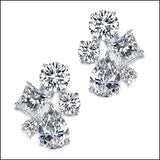 Angelina Hart Marilyn Cluster Earrings