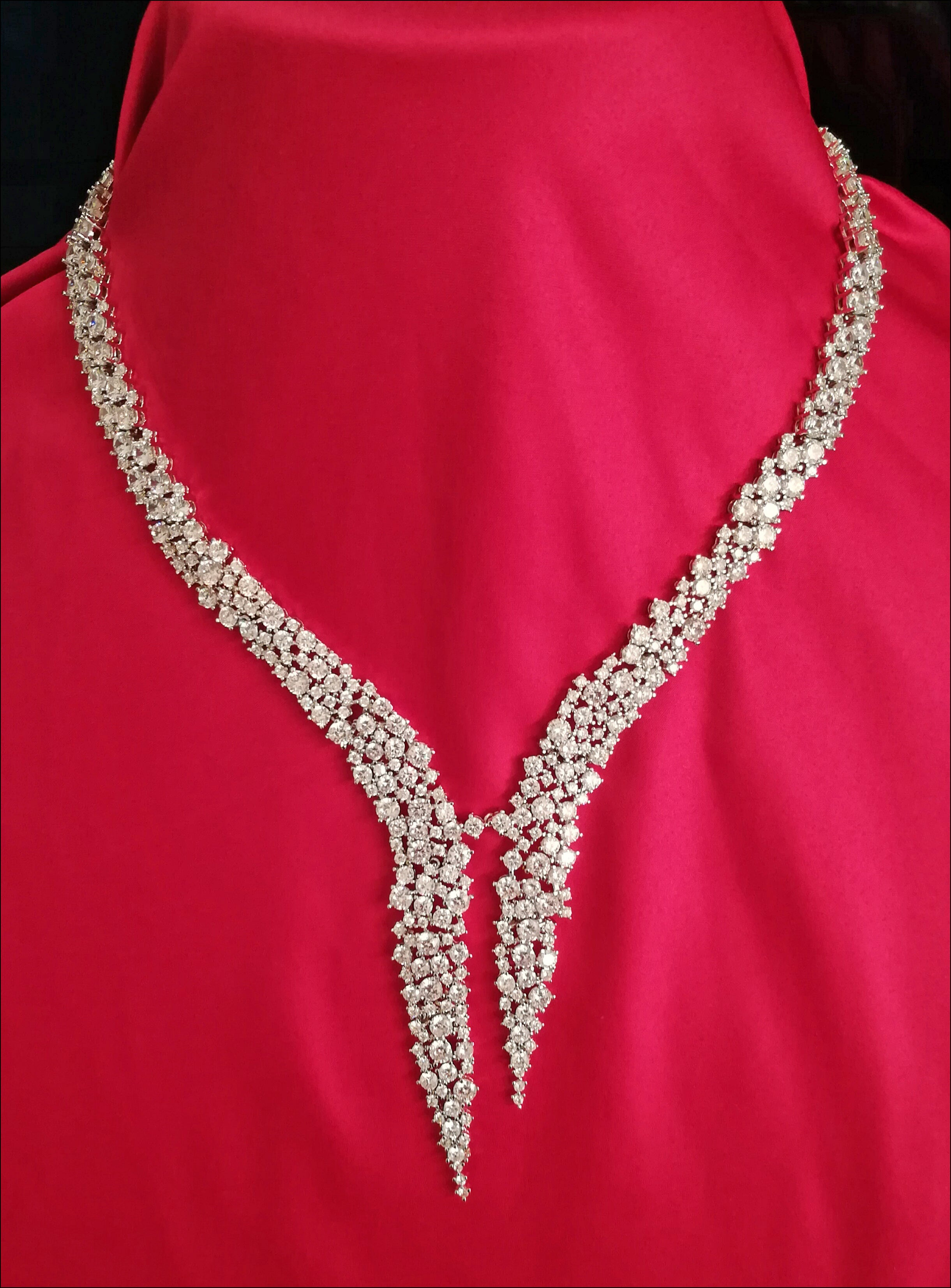 Angelina Hart Monaco Diamond Necklace