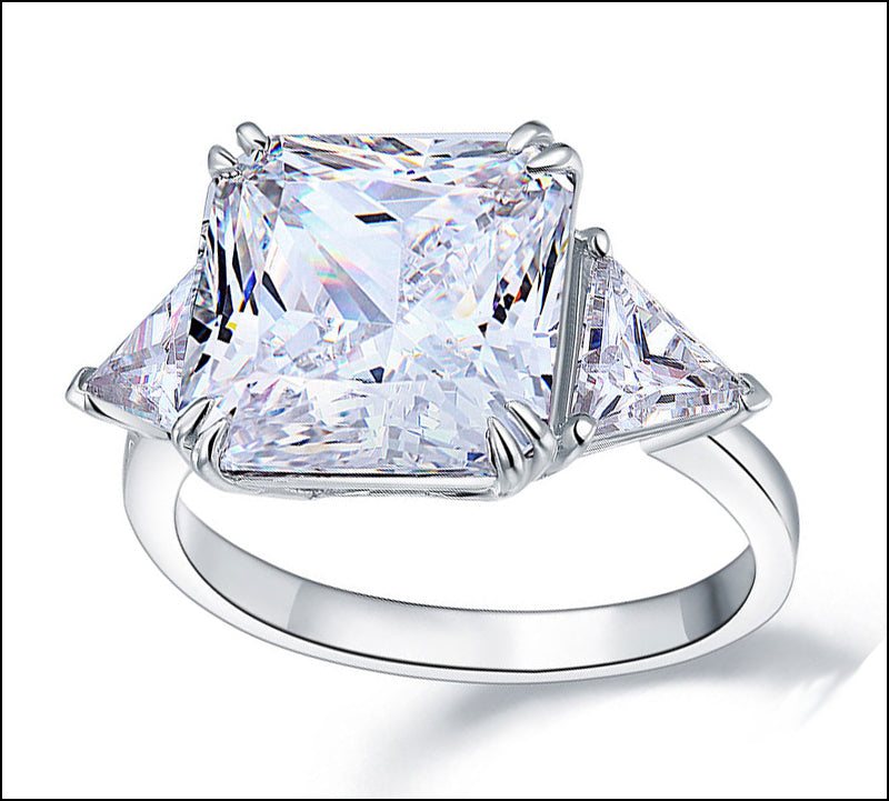 Angelina Hart Princess Cut Diamond Ring