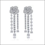 Angelina Hart Ingrid Bergman Rose Earrings