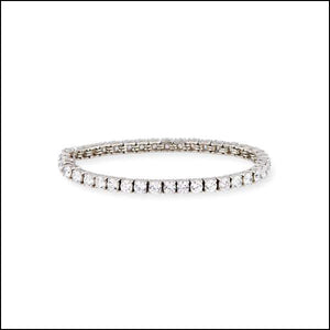 Angelina Hart Diamond Tennis Bracelet