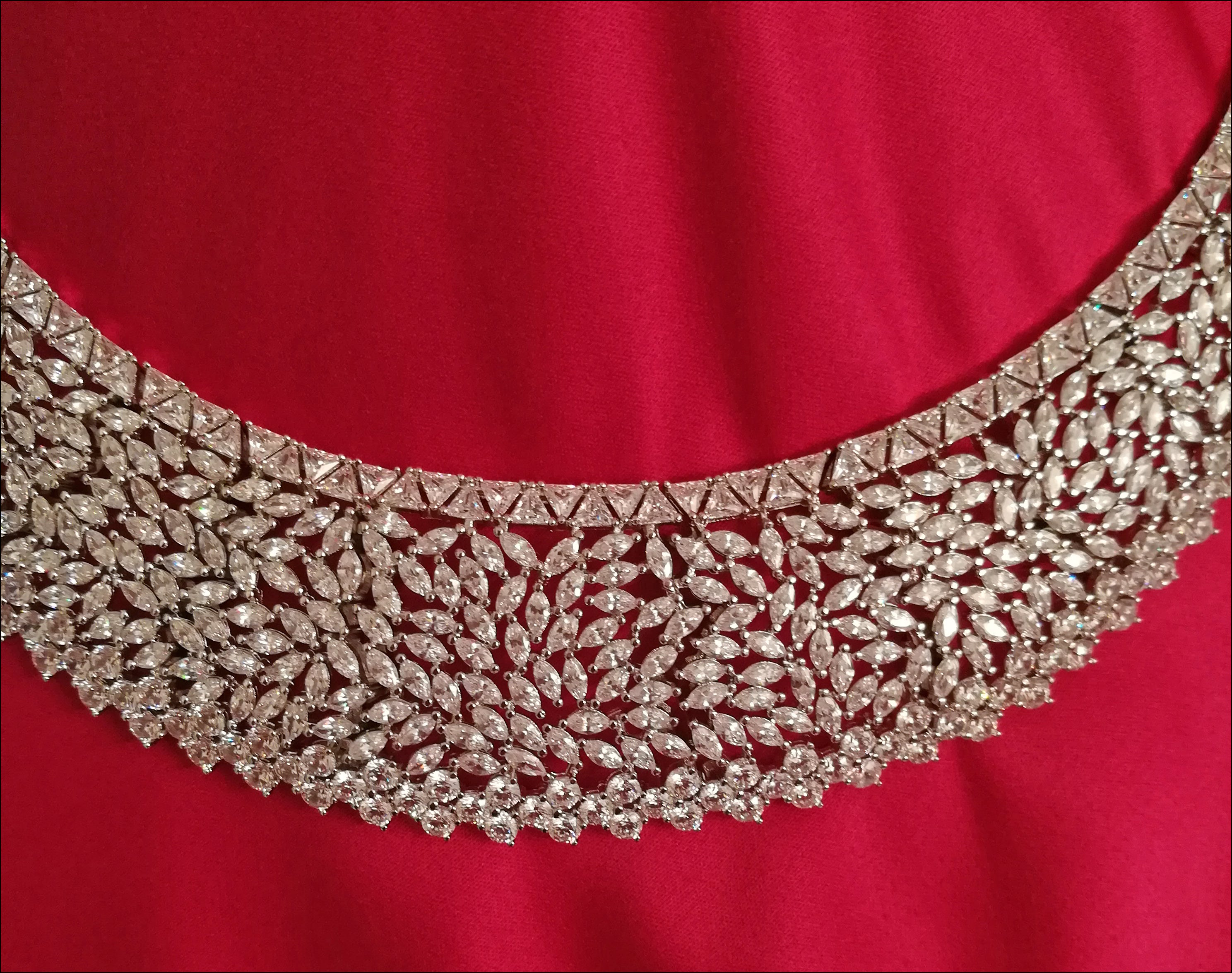 Angelina Hart Toujours Amour Wedding Necklace Detail
