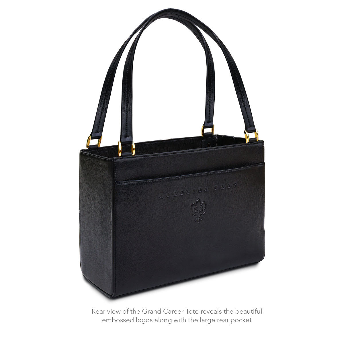 Angelina Hart Grand Career Tote Rear