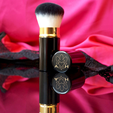 The beauty of the Kabuki Brush by Angelina Hart