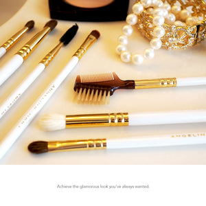 Professional Makeup Brush Set by Angelina Hart