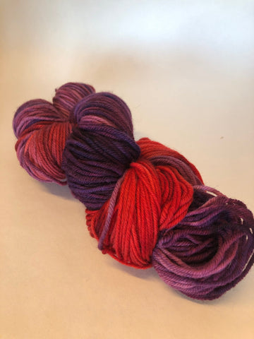 Laine Red Gogh<br>Gogh Red Yarn<br>Maple Leaves<br>(DK)