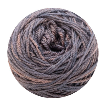 Naturally dyed pure merino in Moonflower - dusky lavender pink colourway