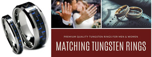 Just Tungsten Rings
